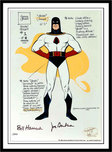 Hanna-Barbera Artwork Hanna-Barbera Artwork Space Ghost Model Sheet