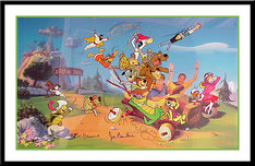 Hanna-Barbera Artwork Hanna-Barbera Artwork 40 Years of Hanna-Barbera