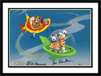 Hanna-Barbera Artwork Hanna-Barbera Artwork Jetsons, Yogi & Boo Boo