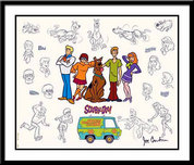 Scooby-Doo Artwork Scooby-Doo Artwork Mystery Gang Model Sheet