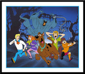 Scooby-Doo Artwork Hanna-Barbera Artwork Relp, It's the Green Ghost