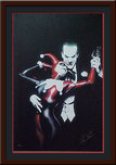 Alex Ross Comic Art Alex Ross Comic Art Tango with Evil