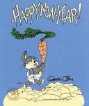Bugs Bunny Animation Art Bugs Bunny Animation Art Happy New Year Baby Bugs