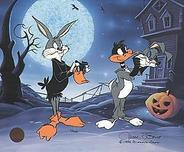 Bugs Bunny Animation Art Bugs Bunny Animation Art Trick or Treat