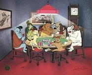 Marc Anthony Artwork by Chuck Jones Chuck Jones Animation Art Full Dog House