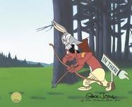 Bugs Bunny Animation Art Bugs Bunny Animation Art A Feather in his Hare