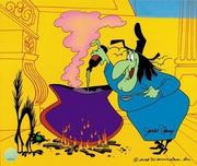 Witch Hazel Artwork by Chuck Jones Witch Hazel Artwork by Chuck Jones Broomstick Bunny - Director's Cut