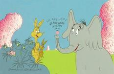 Horton Hears a Who by Chuck Jones Chuck Jones Animation Art We Are Here!