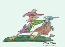 Daffy Duck by Chuck Jones  Daffy Duck by Chuck Jones Drip-a-Long