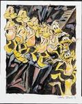 Daffy Duck by Chuck Jones  Daffy Duck by Chuck Jones Nude Duck Descending a Staircase