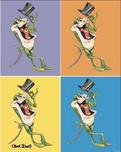 Michigan J Frog Artwork Michigan J Frog Artwork Michigan Rag