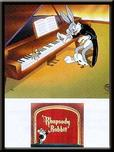 Bugs Bunny Animation Art Bugs Bunny Animation Art Title Card: Rhapsody Rabbit