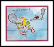 Tweety Bird Artwork Tweety Bird Artwork Anyone for tennis?