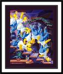 Simpsons Artwork Simpsons Artwork Homer Descending A Staircase