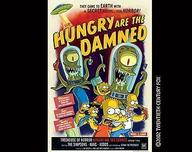 Simpsons Artwork Simpsons Artwork Hungry Are the Damned