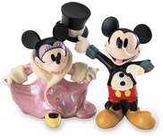 Mickey Mouse WDCC Figurines Mickey Mouse WDCC Figurines Top Hat and Tails and All Dolled Up
