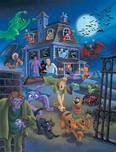 Scooby-Doo Artwork Scooby-Doo Artwork House Swarming