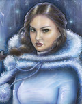 Star Wars Artwork Star Wars Artwork Snow Bunny Padme