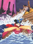 Mickey Mouse Artwork Mickey Mouse Artwork A Spell to Stop the Flood