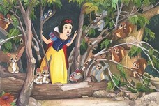 Snow White Artwork Snow White Artwork Snow White's Discovery