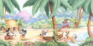 Donald Duck Animation Art Donald Duck Animation Art Island Days