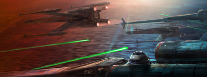 Star Wars Artwork Star Wars Artwork Steady Descent