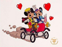 Minnie Mouse Artwork Minnie Mouse Artwork Sunday Drive