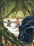 Star Wars Artwork Star Wars Artwork The Lesson