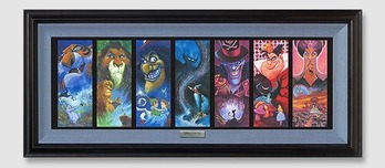 Lion King Artwork Lion King Artwork The Villainous Seven