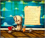 Fabio Napoleoni Fabio Napoleoni The Wish List (OE) Mini Print