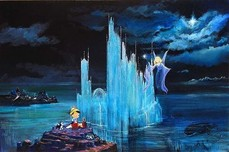 Mary Poppins Artwork Mary Poppins Artwork Blue Castle
