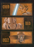 Star Wars Artwork Star Wars Artwork The Good, The Bad and The Ugly - Clone War Series