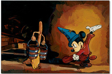 Mickey Mouse Artwork Mickey Mouse Artwork The Sorcerer's Apprentice