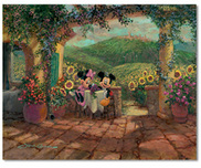 Mickey Mouse Artwork Mickey Mouse Artwork Tuscan Love