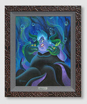 Little Mermaid Artwork Little Mermaid Artwork Ursula and Her Messengers