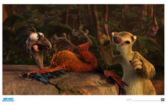 Ice Age Artwork Ice Age Artwork Wacky