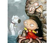 Family Guy Art Family Guy Art Wait A Second