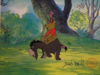 Winnie the Pooh Artwork Winnie the Pooh Artwork Blustery Day