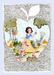 Snow White Artwork Snow White Artwork Snow White and Her Woodland Friends