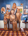 Star Wars Artwork Star Wars Artwork Wookie Family Portrait