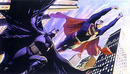 Alex Ross Comic Art Alex Ross Comic Art World's Finest