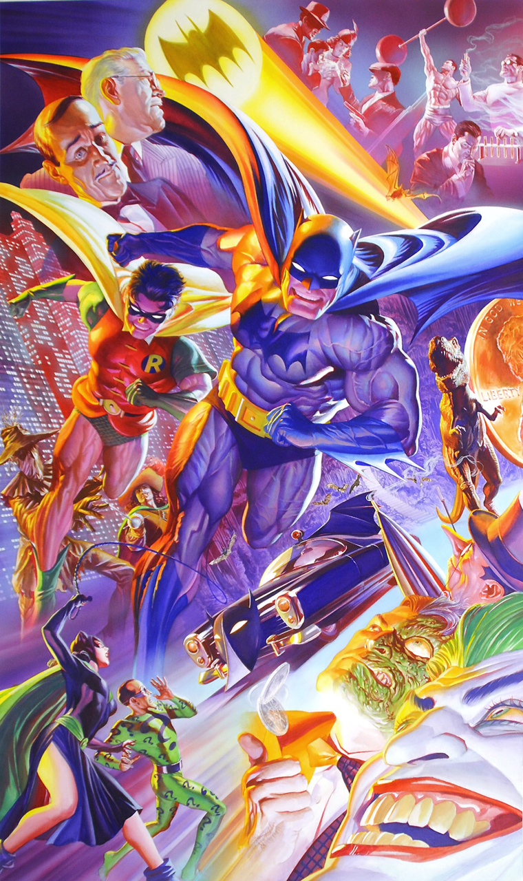 Alex Ross 75th Anniversary: The History of Batman (Paper)