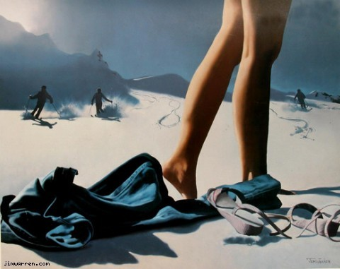Jim Warren A Day On The Slopes