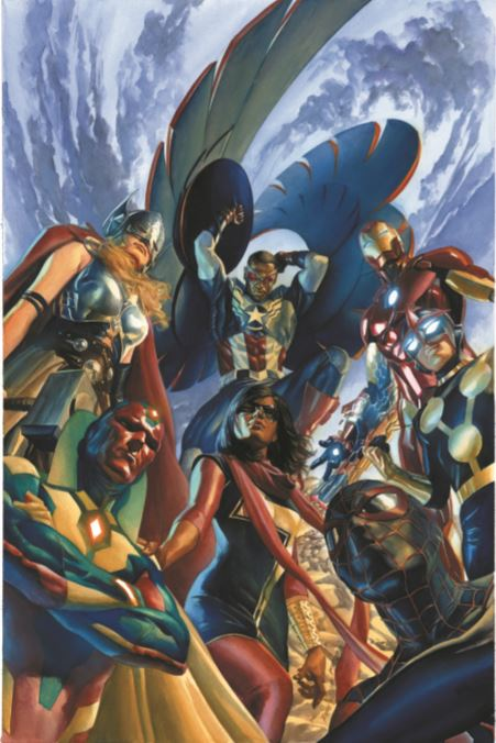 Alex Ross All New All Different Avengers #1 (Mini Canvas)