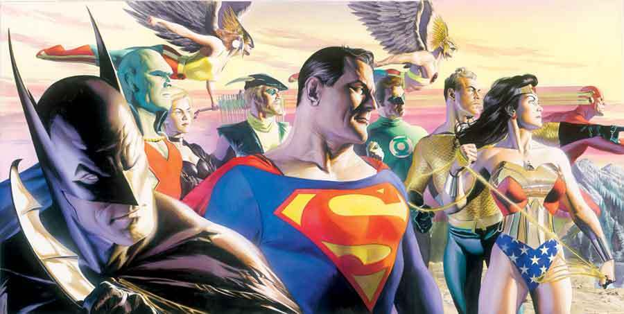 Alex Ross In the Light of Justice