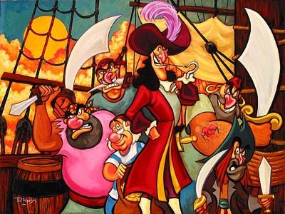 Tim Rogerson Captain Hook and His Gang