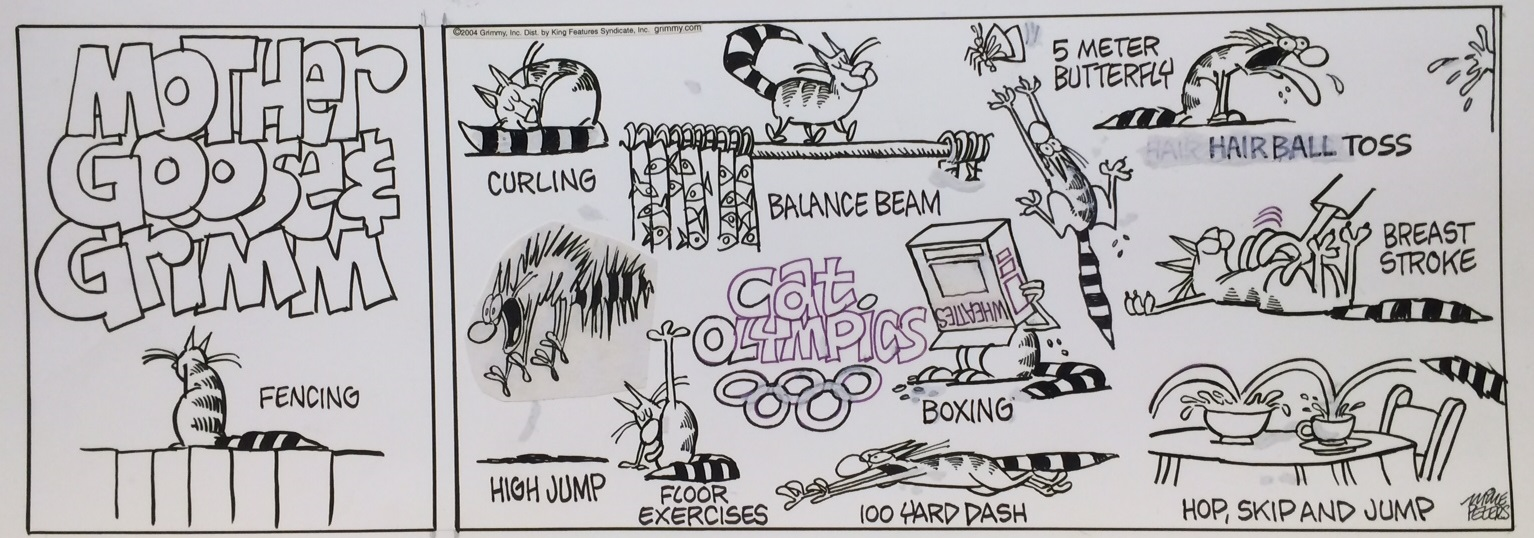 Mike Peters Cat Olympics