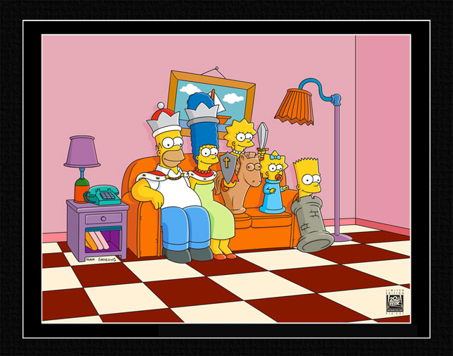 20th Century Fox Couch Gag: Chess