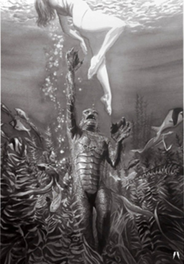Alex Ross Creature from the Black Lagoon (Universal Monsters)