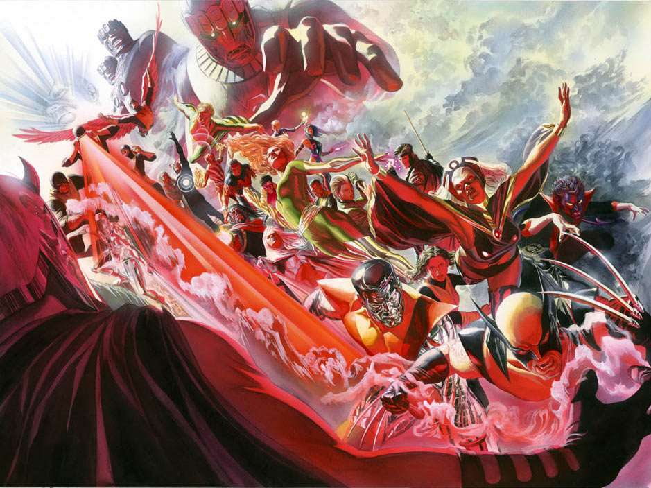 Alex Ross Evolution